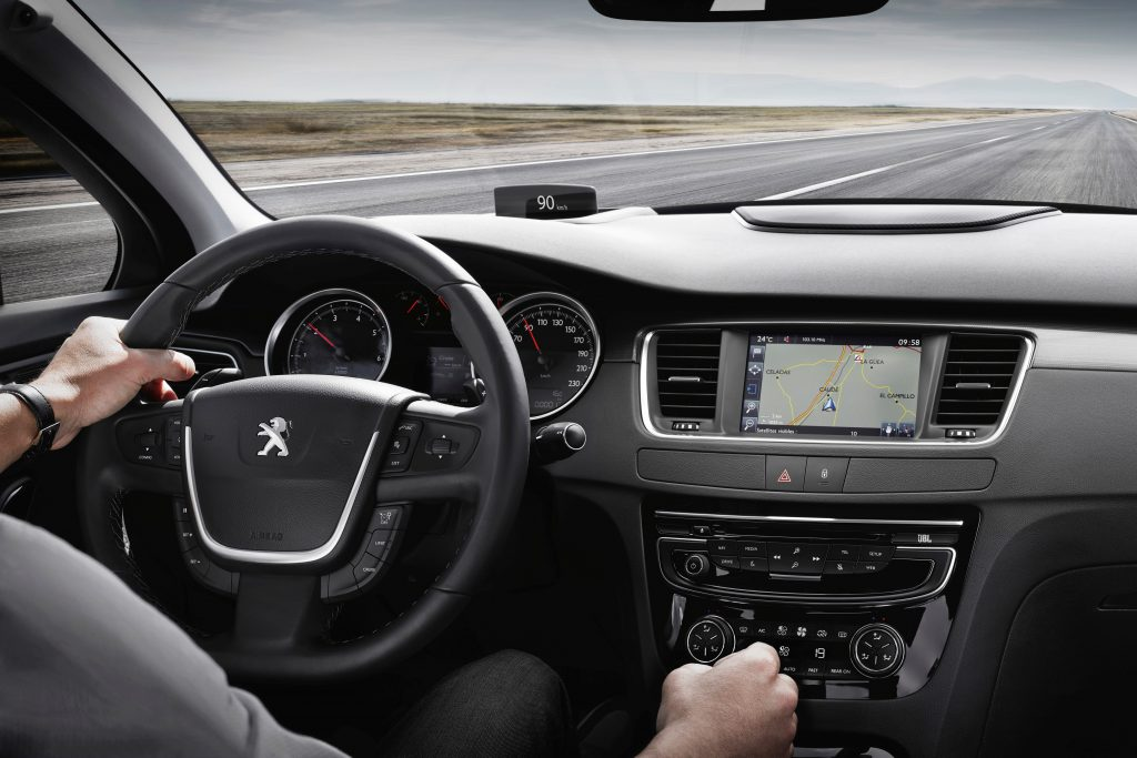 Peugeot 508 2.0 BlueHDI interieur (2014)