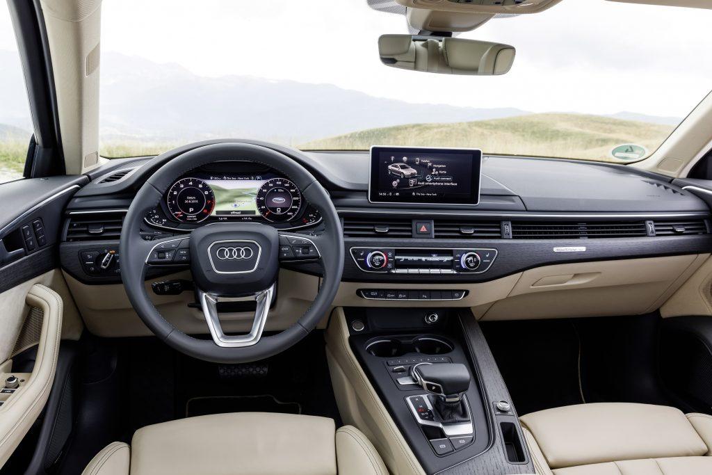 Audi A4 2.0 TFSI Ultra interieur (2015)