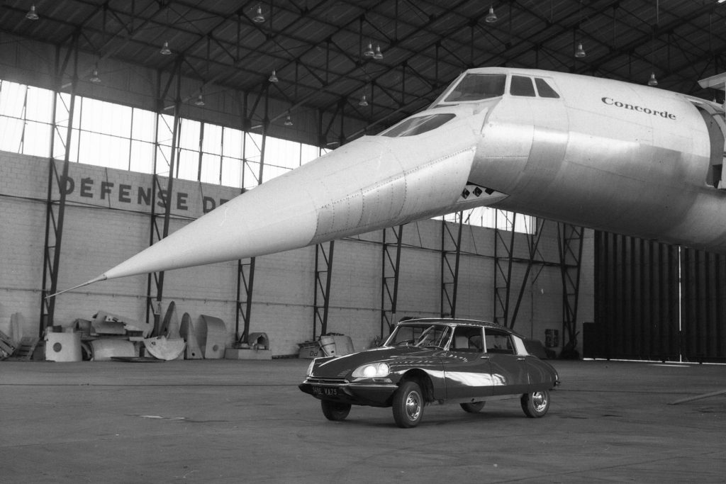 Designuitstapjes: Concorde interieur door Flaminio Bertoni