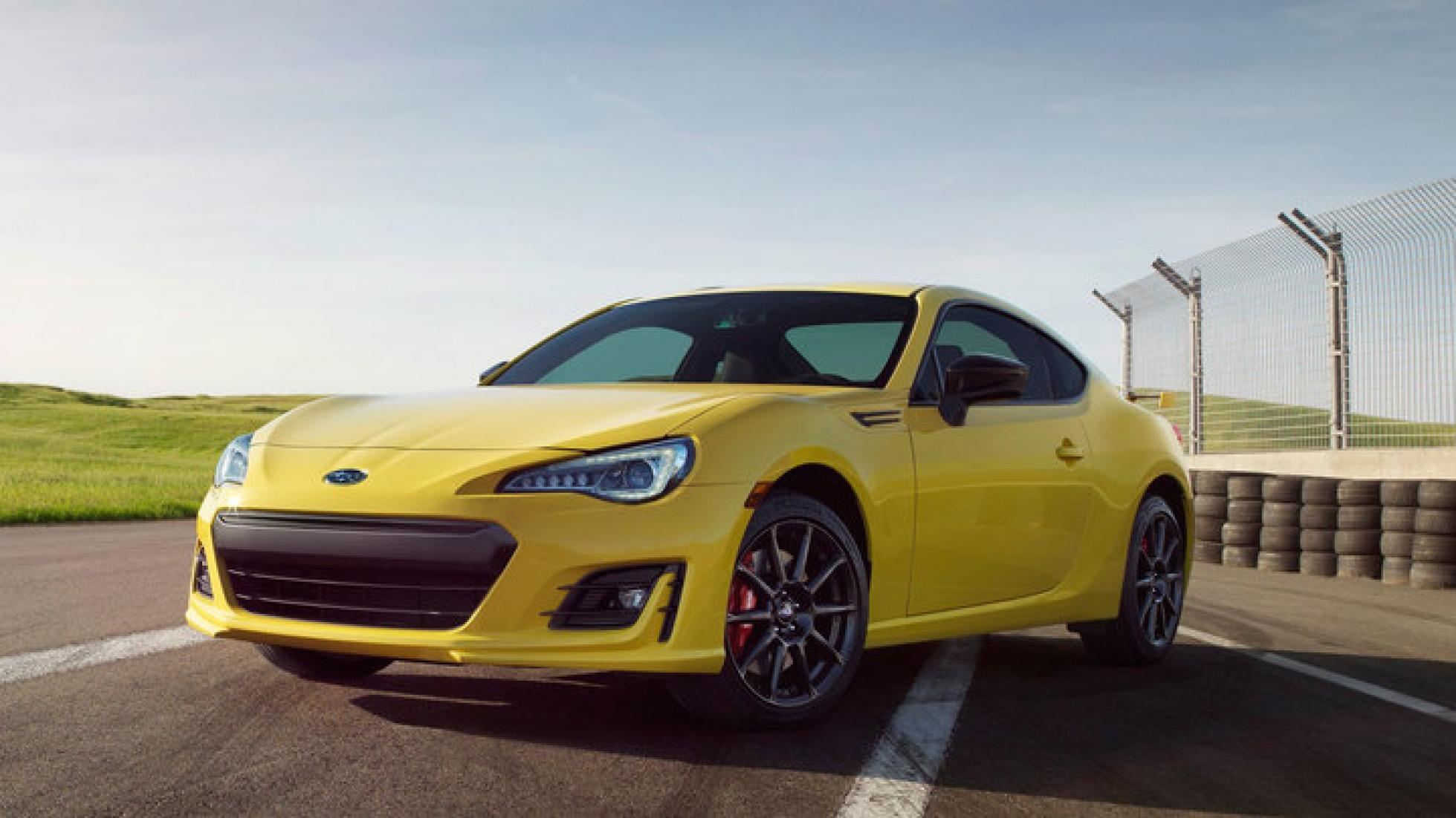 Subaru BRZ ZSeries Yellow 2017