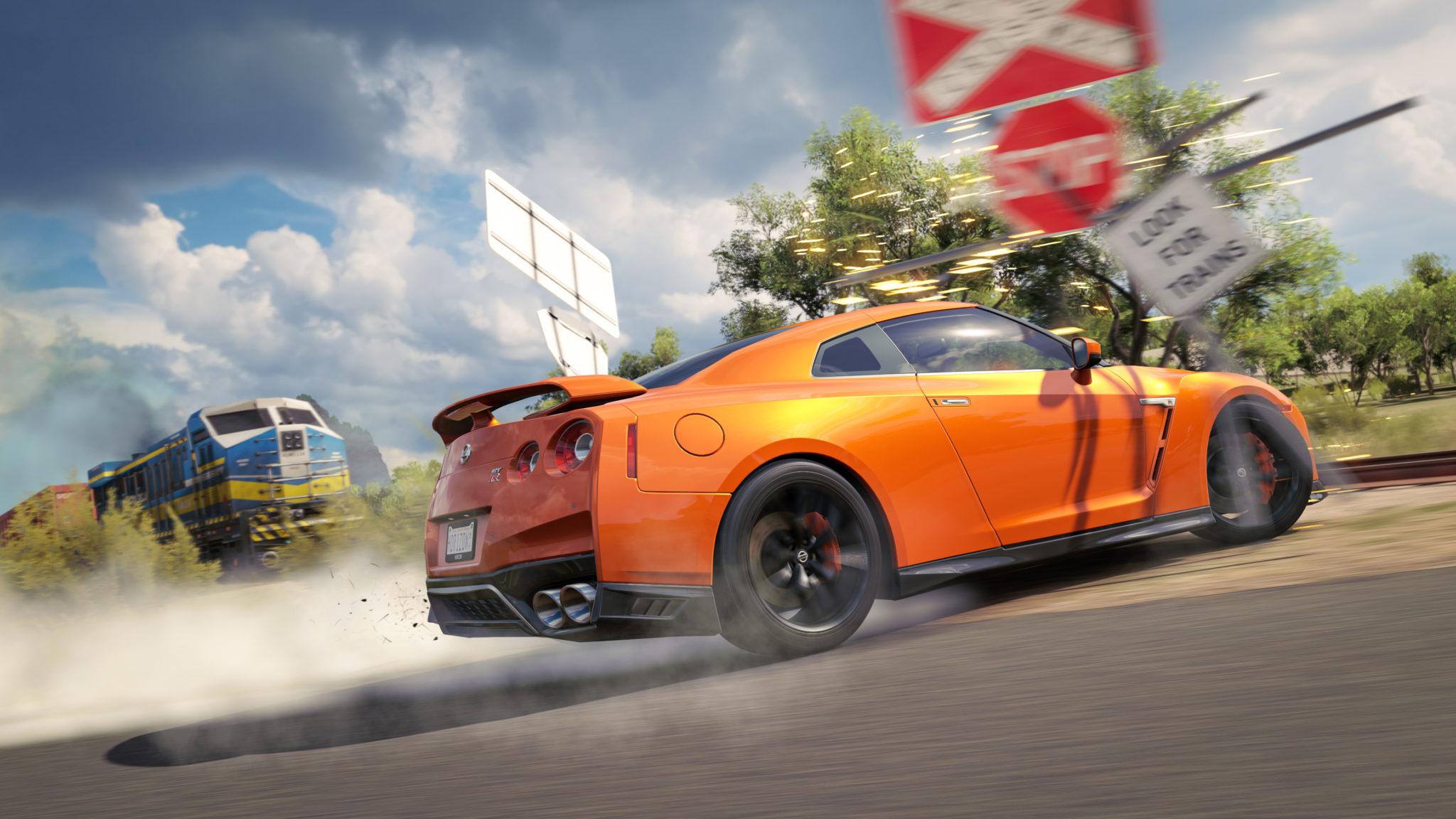 Forza Horizon 3 Train Showcase