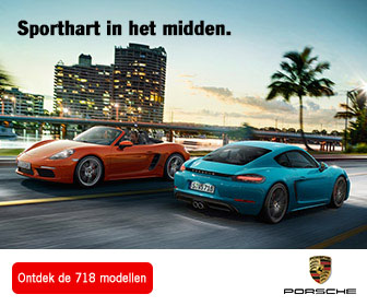 Porsche 718 advertentie 336 x 280