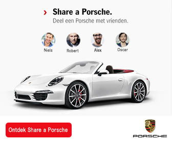 Porsche share advertentie 336 x 280