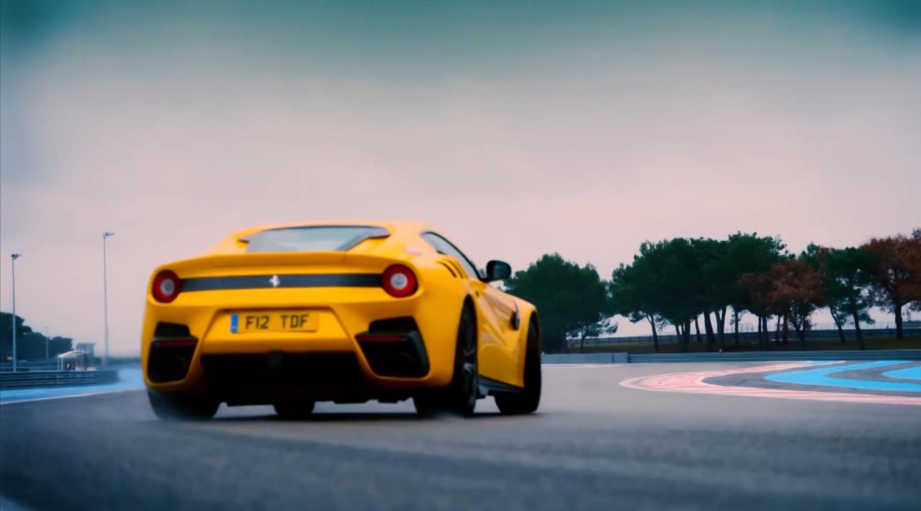 Ferrari F12 tdf vs Ferrari 250 GT Berlinetta tdf