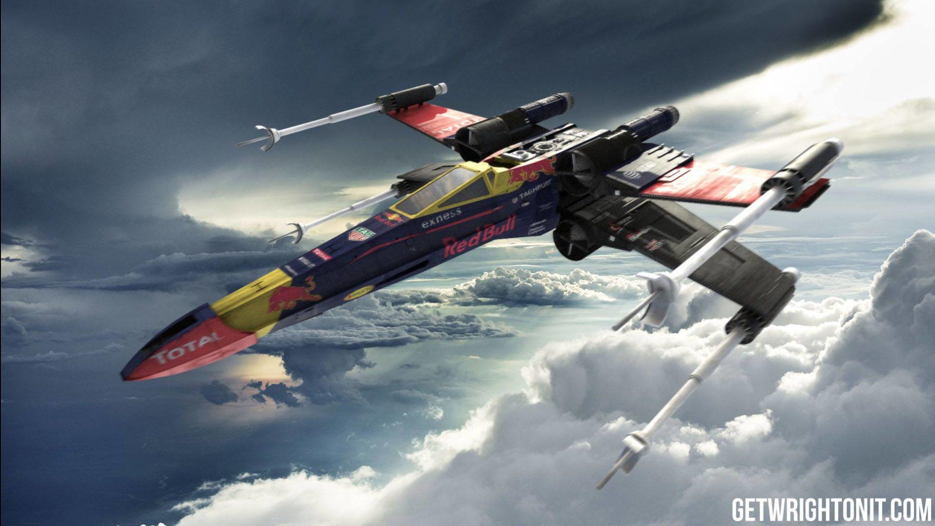 Red Bull Racing in Star Wars