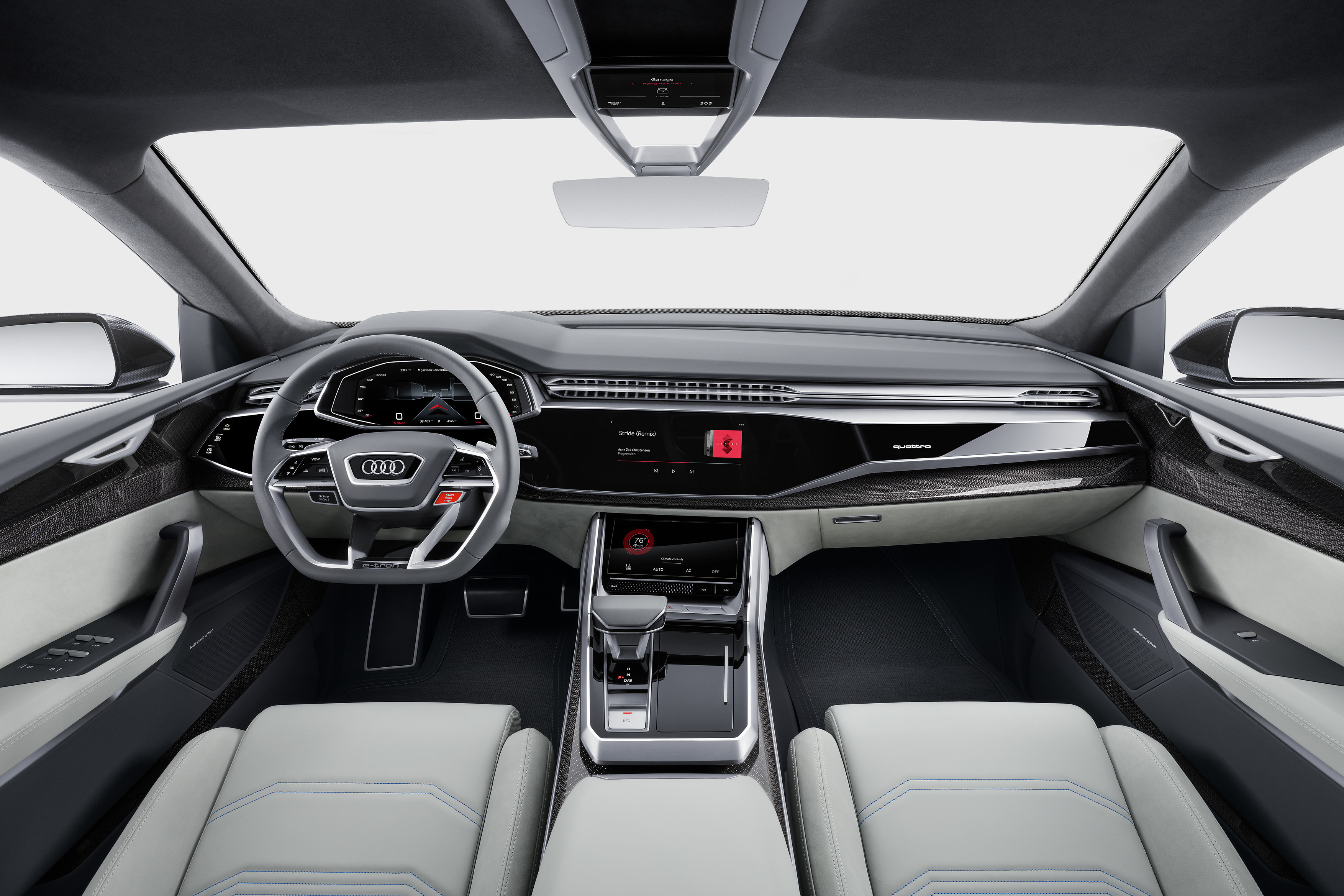 Audi Q8 concept autonieuws van 9 januari 2017