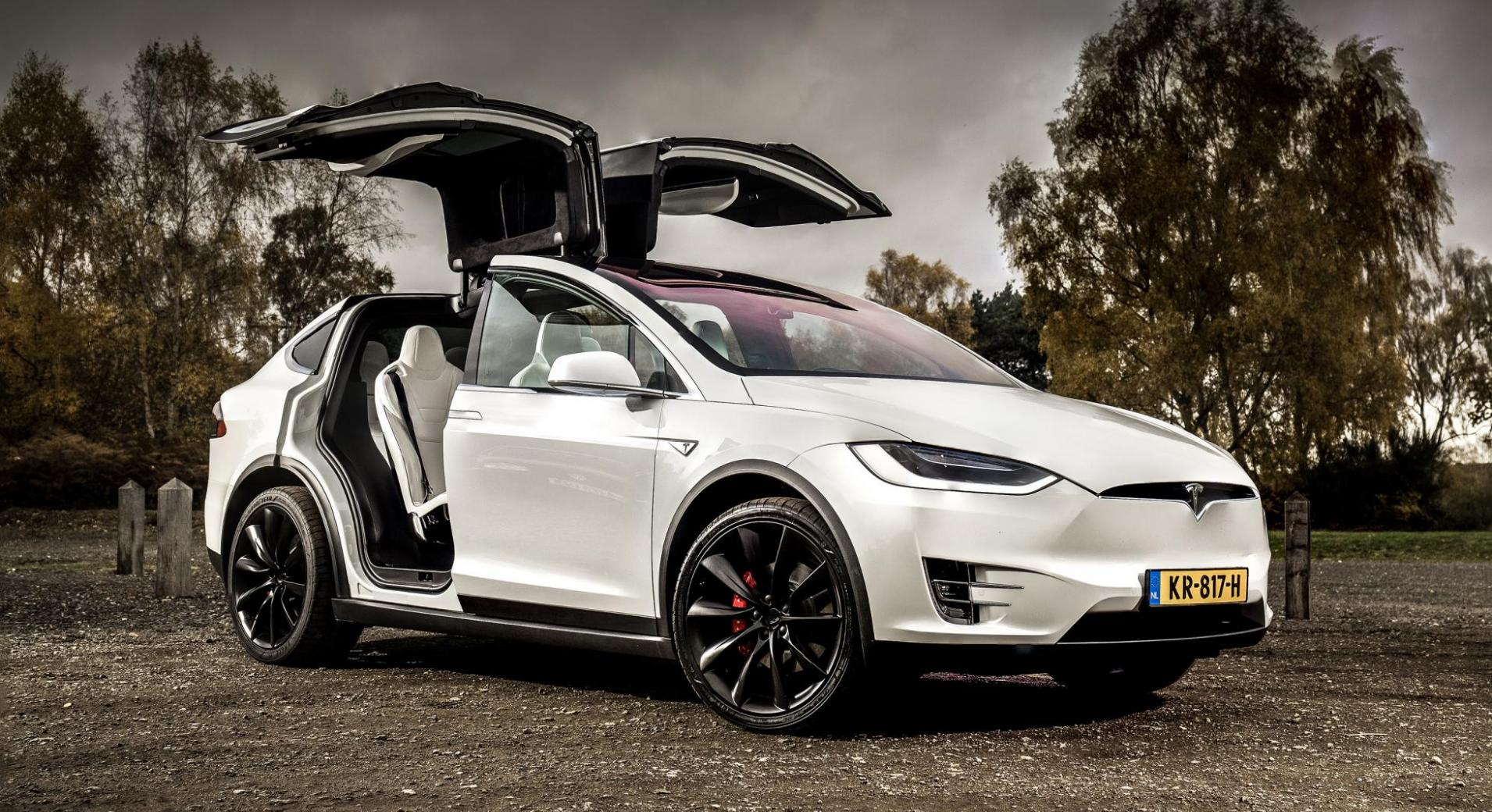 stroomstoring tesla model x