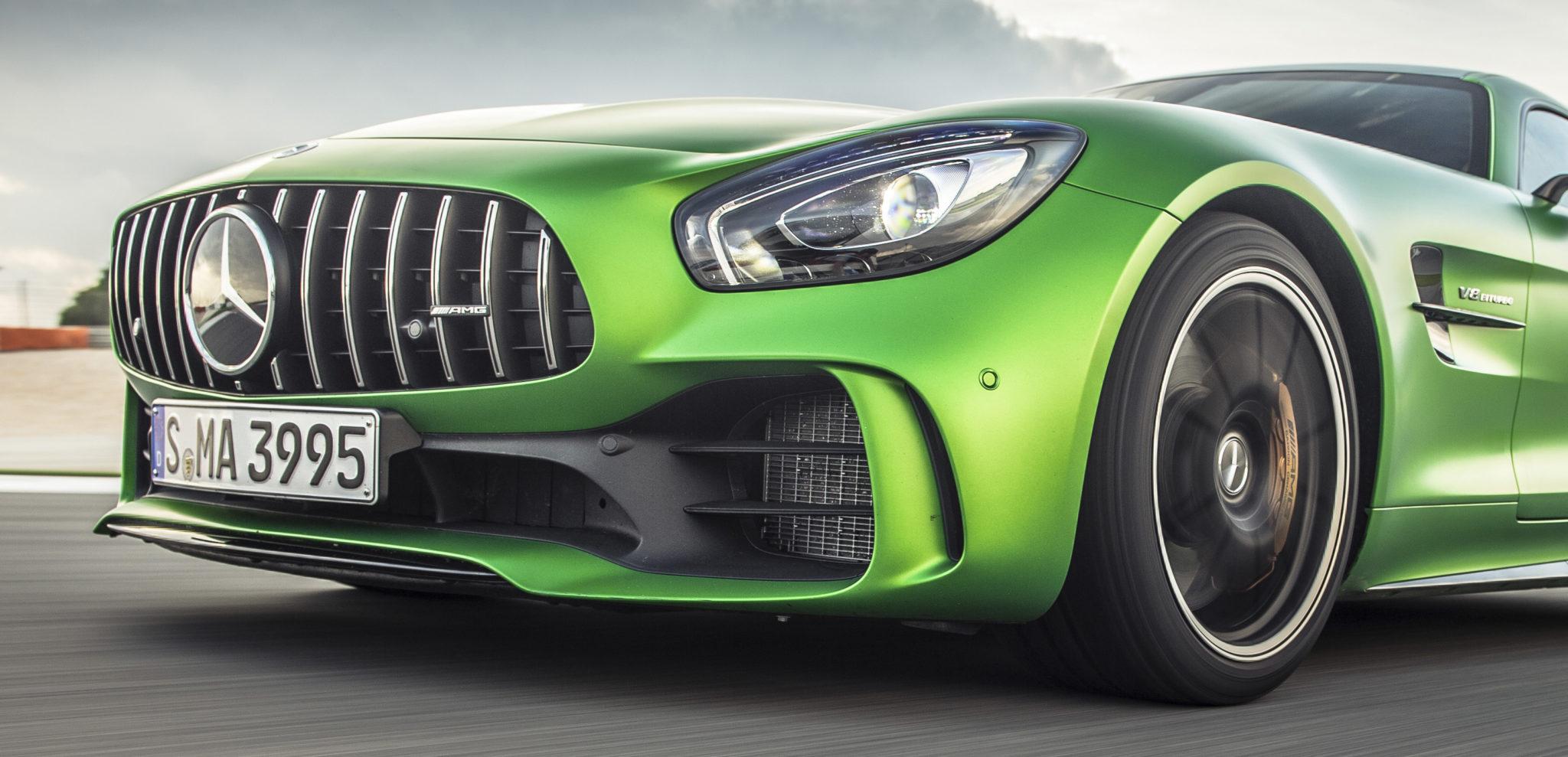 Mercedes-AMG GT R test drive 2017 groene gevaar (166)