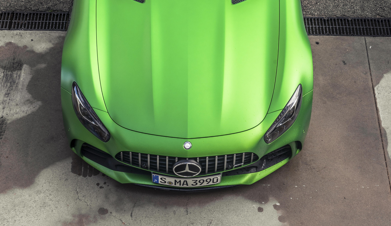 Mercedes-AMG GT R test drive 2017 groene gevaar (99)