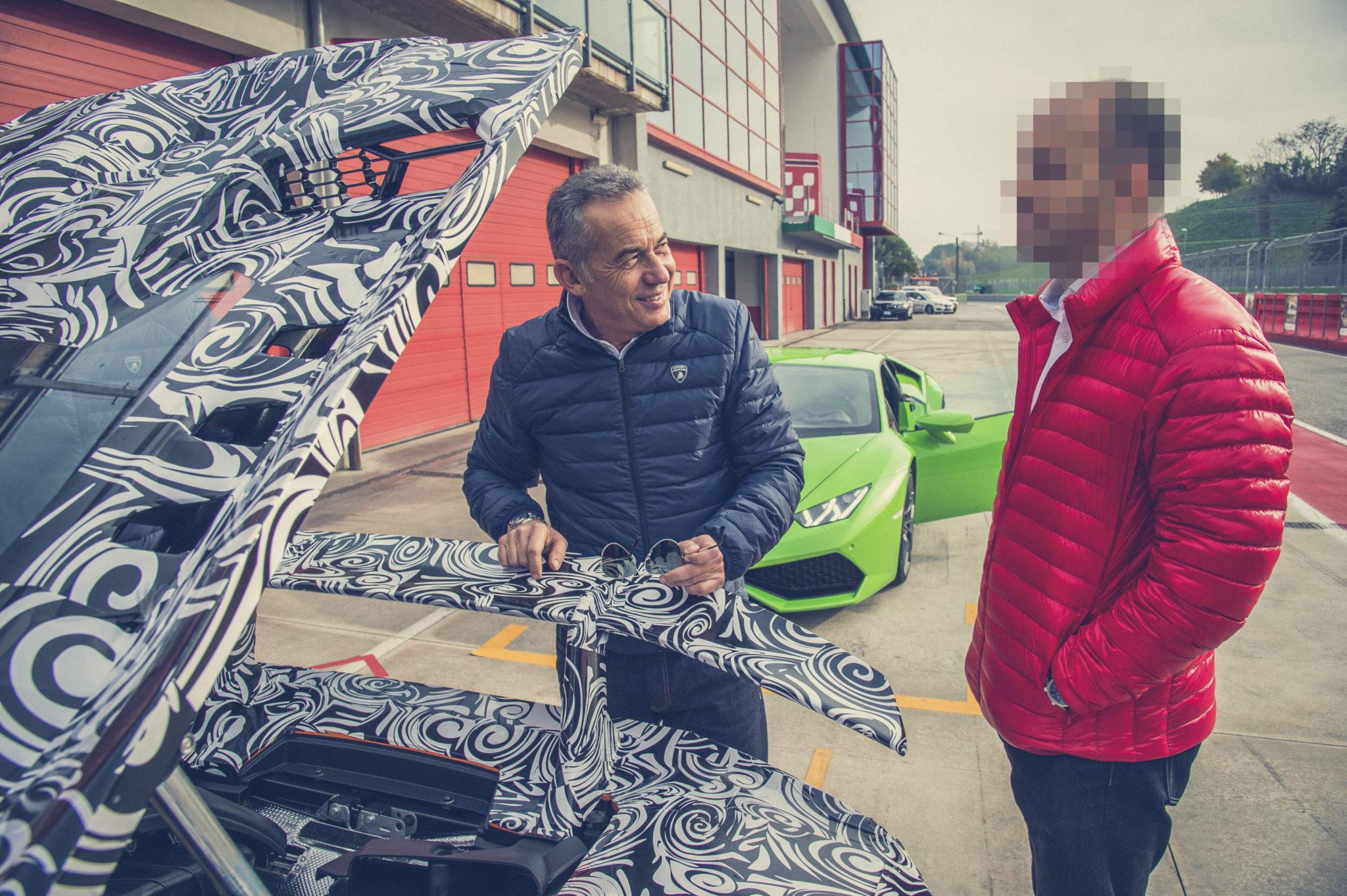 Testrit: Lamborghini Huracán Performante spoiler (2017)