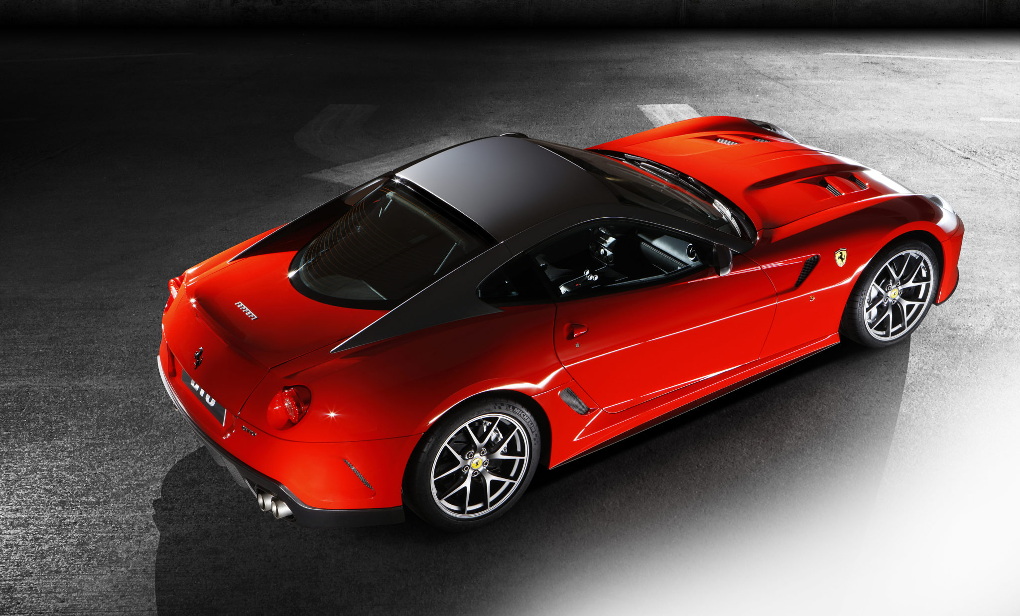 snelste Ferrari's op Fiorano 599