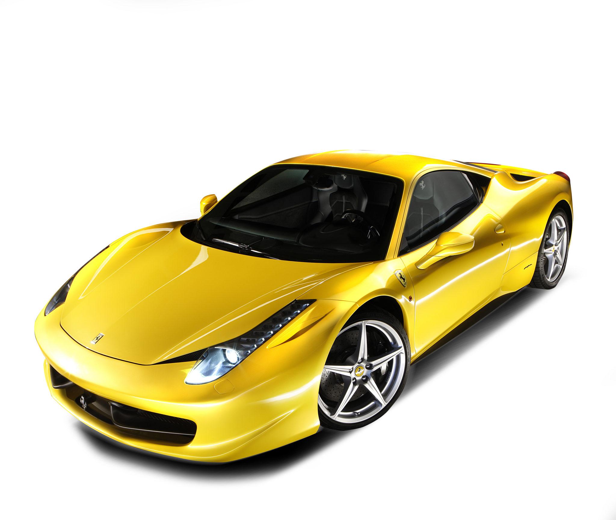 snelste Ferrari's op Fiorano 458