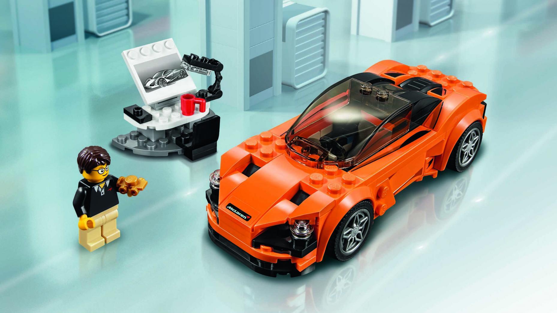 Petite Voiture De Course Lego Mercedes