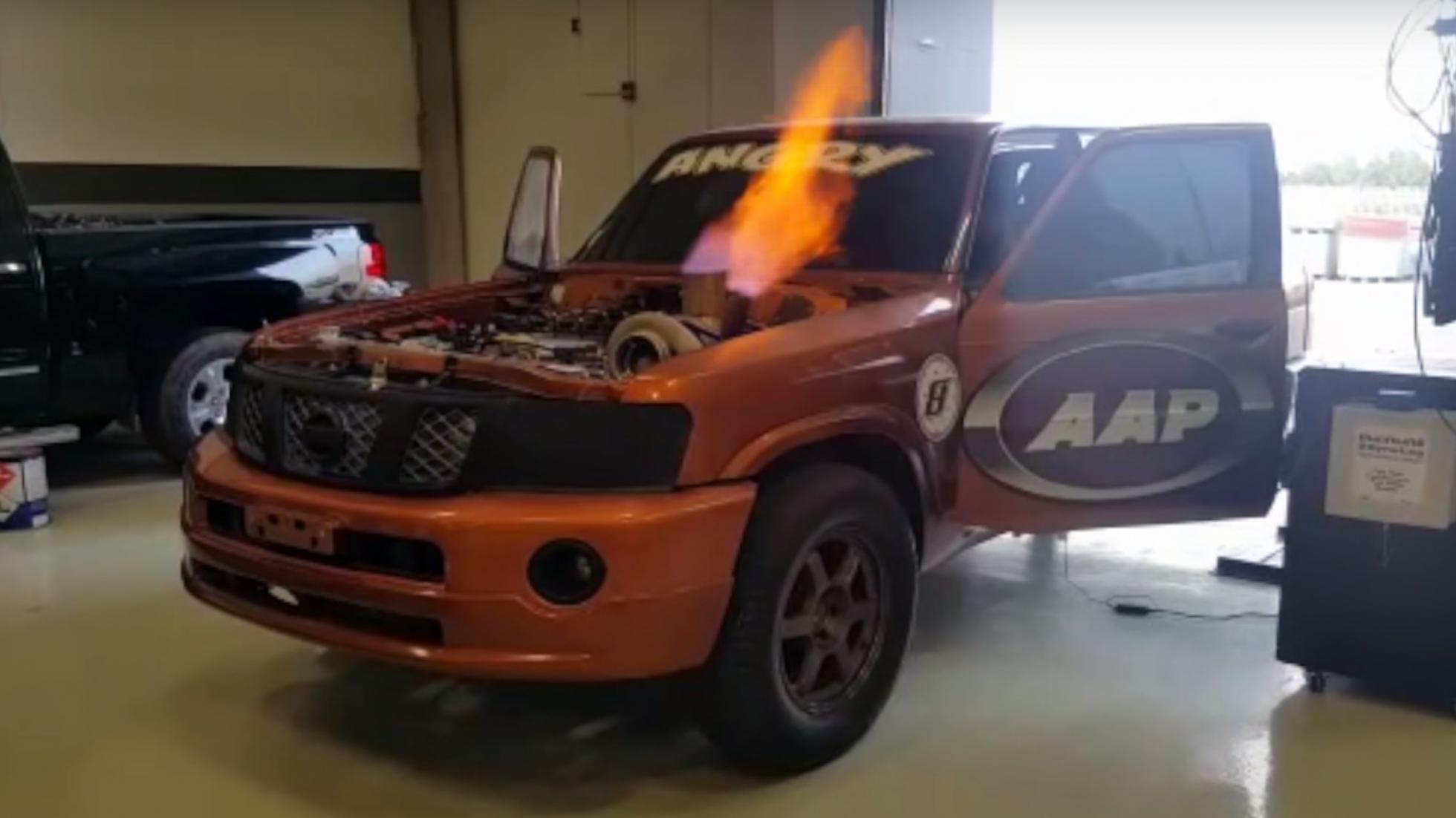 Nissan Patrol met 2.000 pk