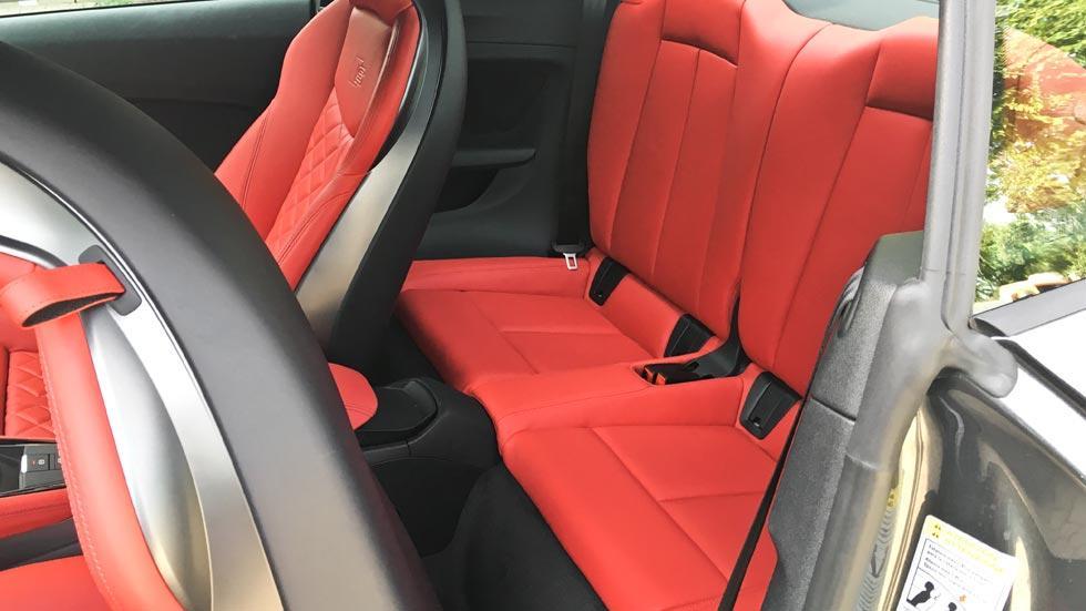 slechtste achterbanken Audi TTS
