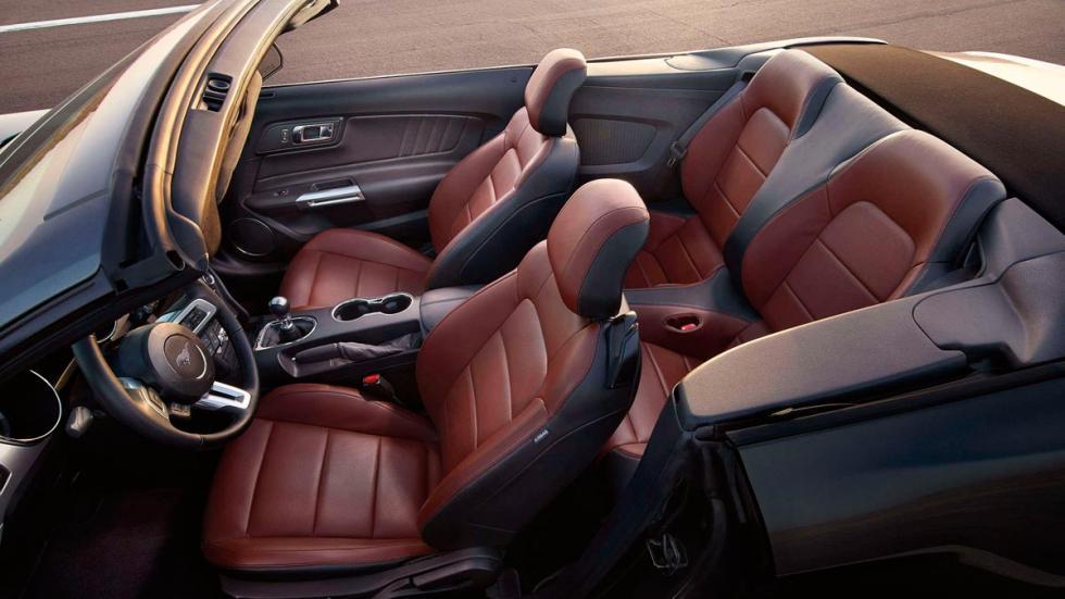 slechtste achterbanken Ford Mustang
