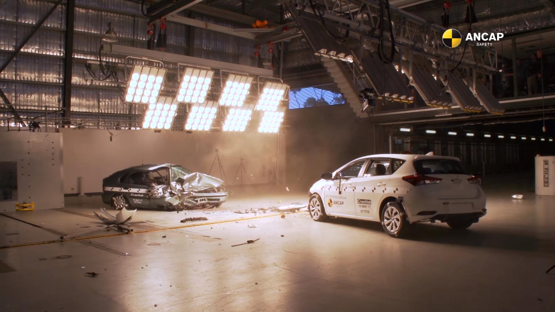 Hoeveel veiliger zijn auto's nu