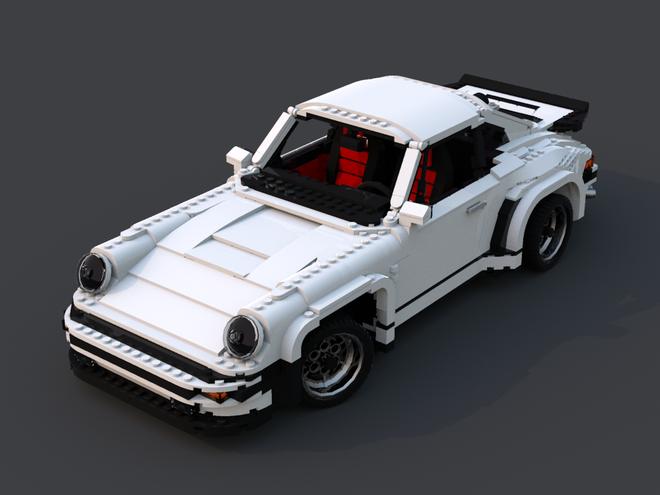 Porsche 911 Turbo van Lego