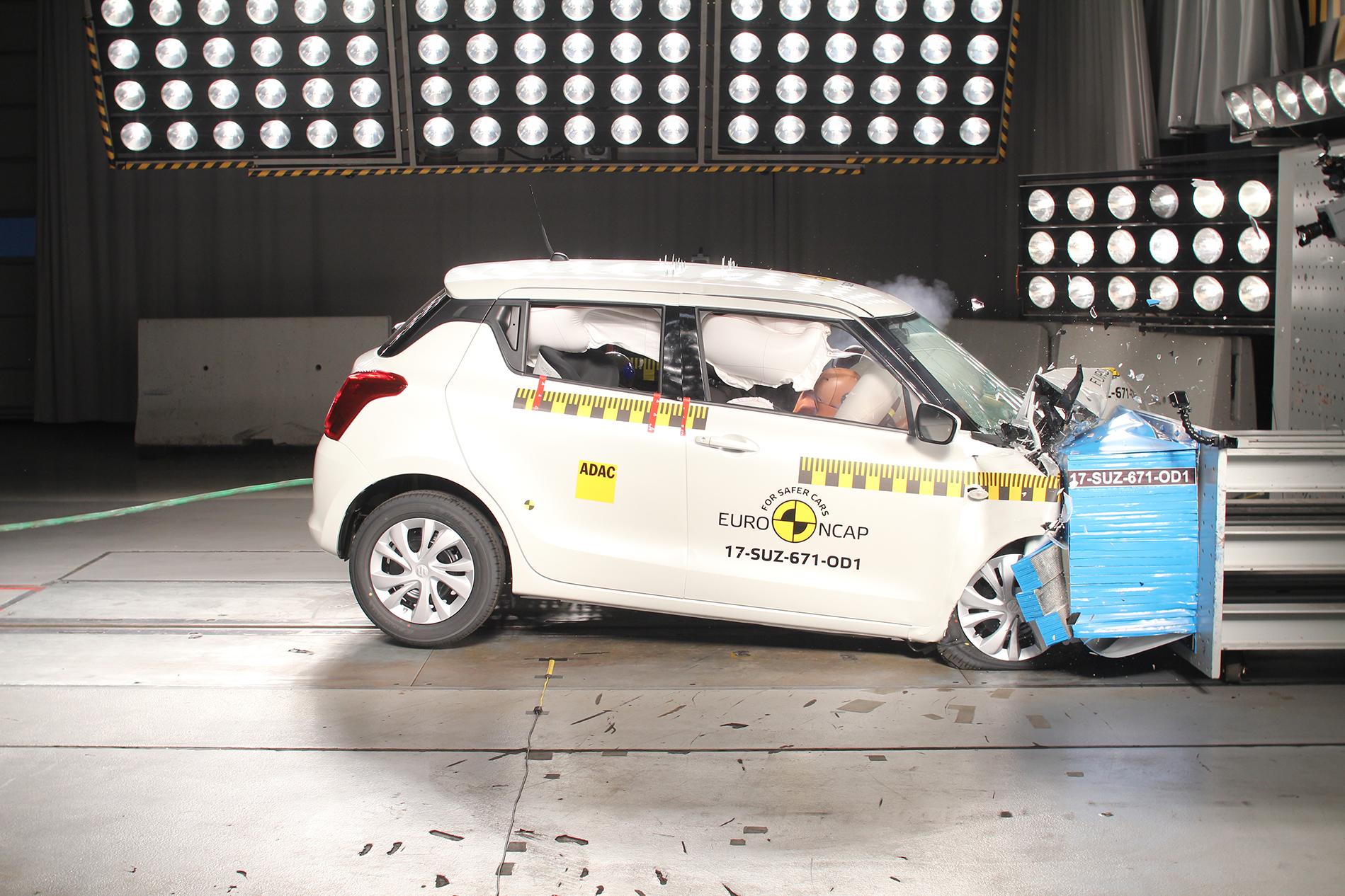 Testresultaten Euro NCAP mei 2017