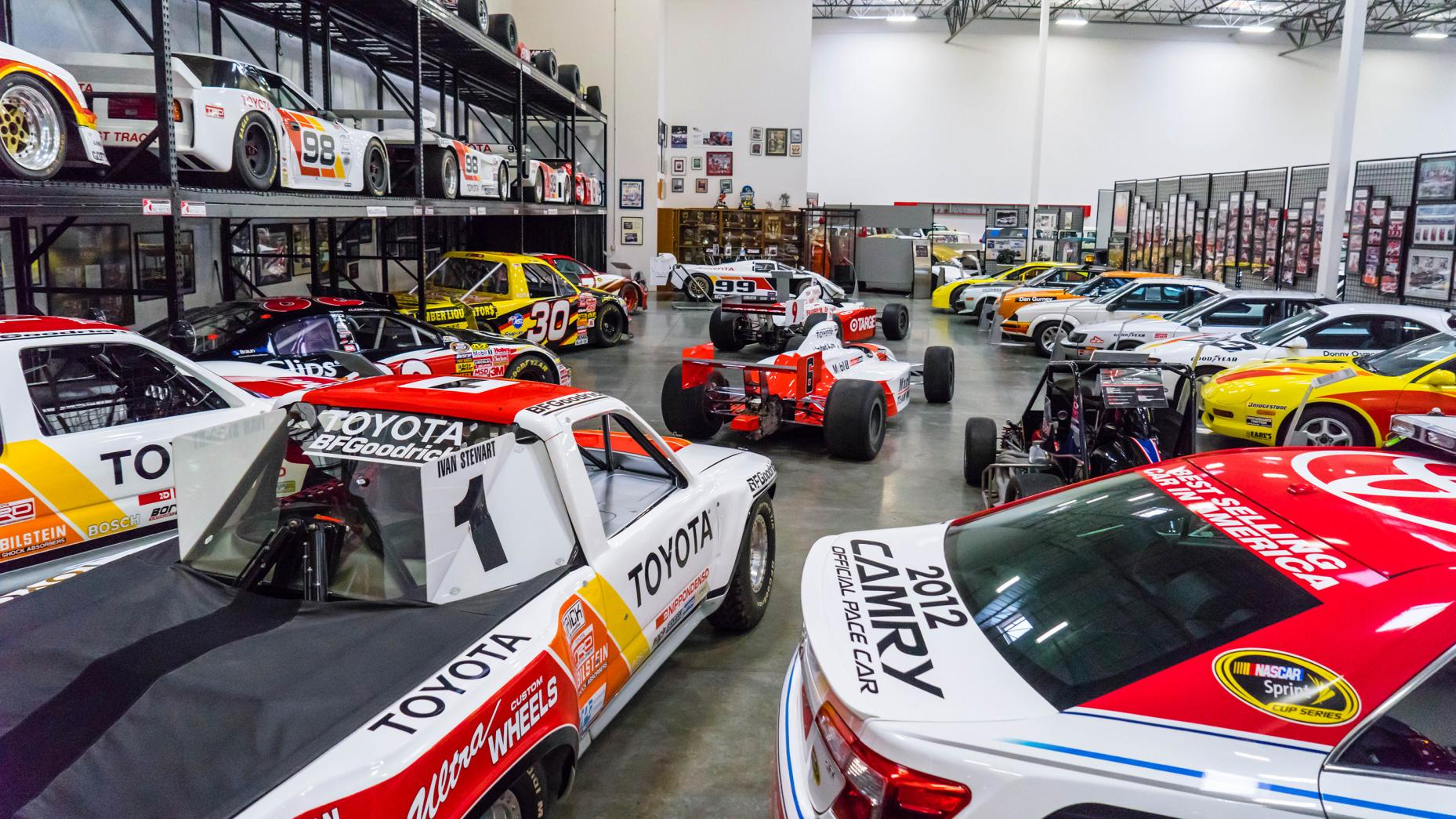 verzameling Toyota's