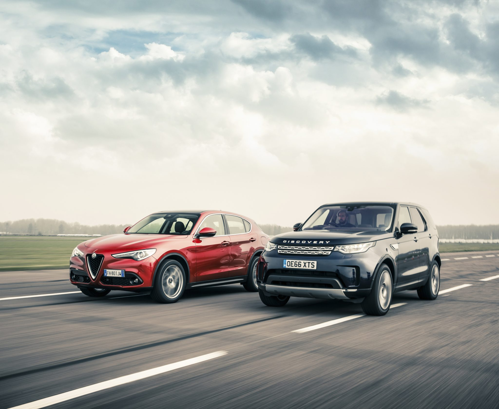 SUV-test: Snelheid