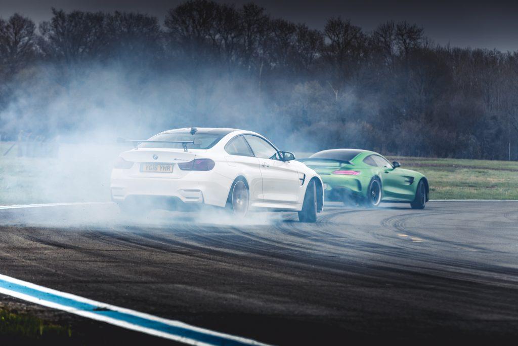 Tweedehands auto AMG GT R vs 911 GT3 RS vs M4 GTS (9)