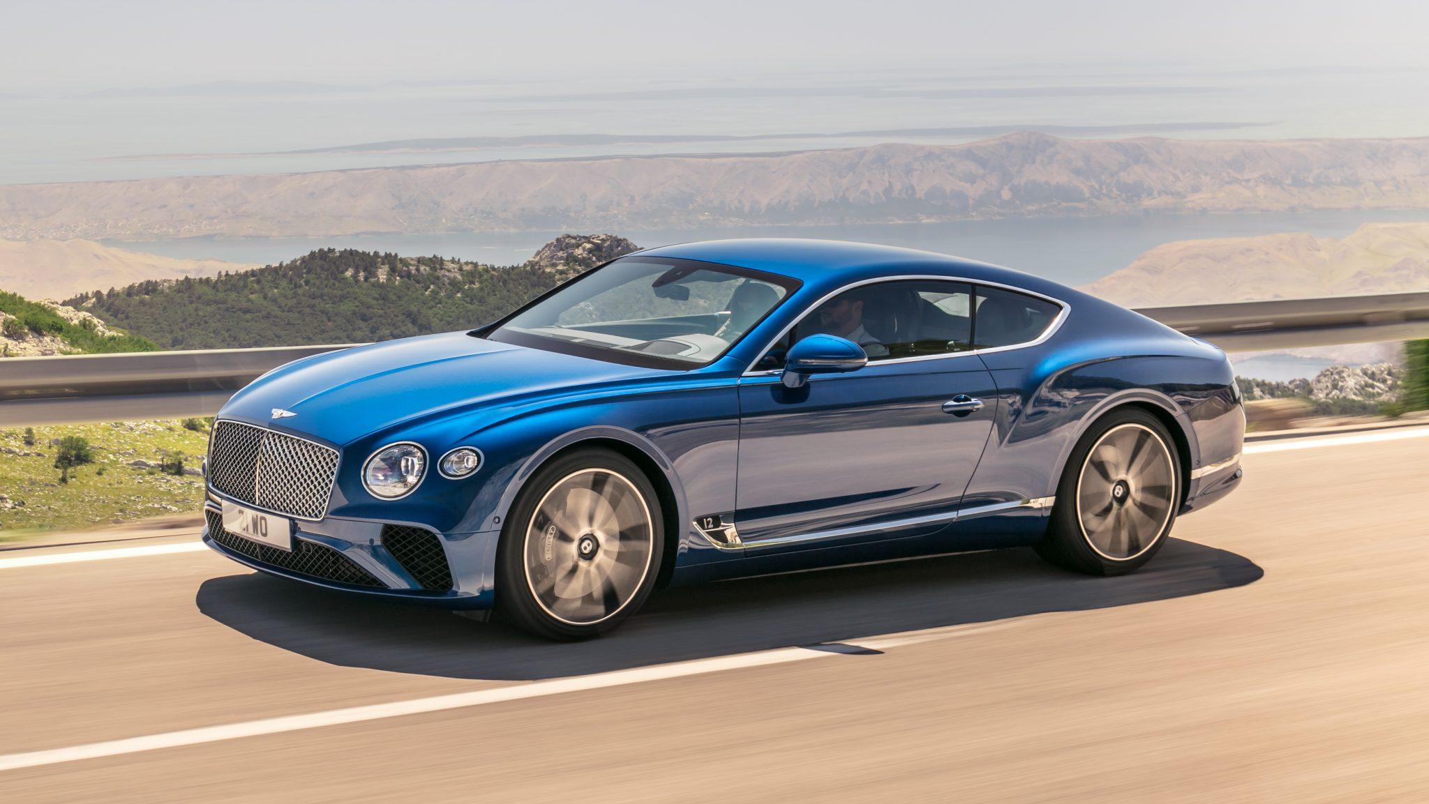 nieuwe Bentley Continental GT 2018