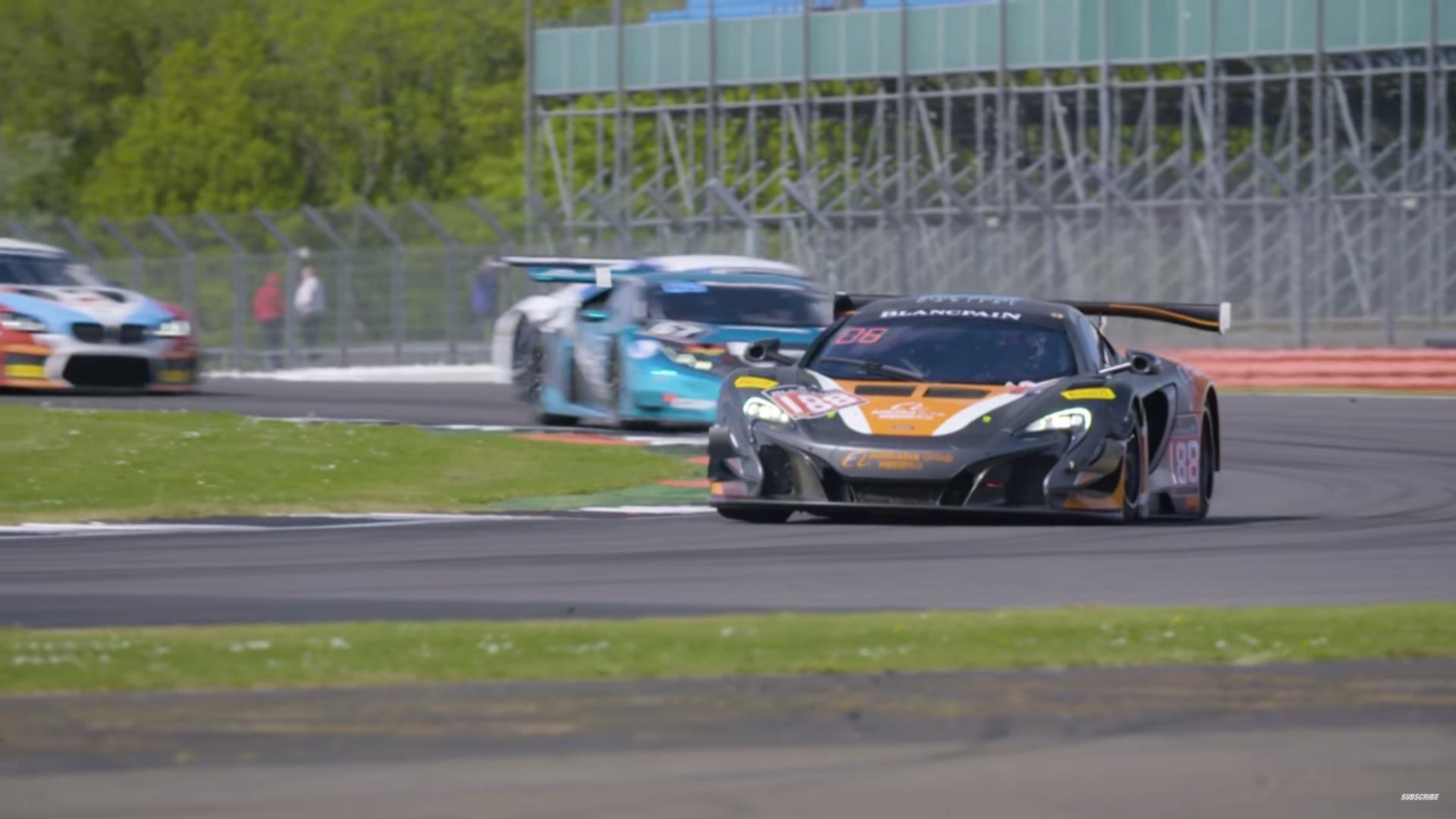raceweekend op Silverstone
