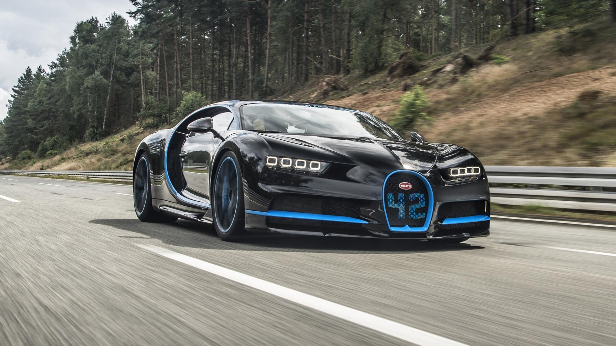 Met welke auto film je de snelste auto ter wereld