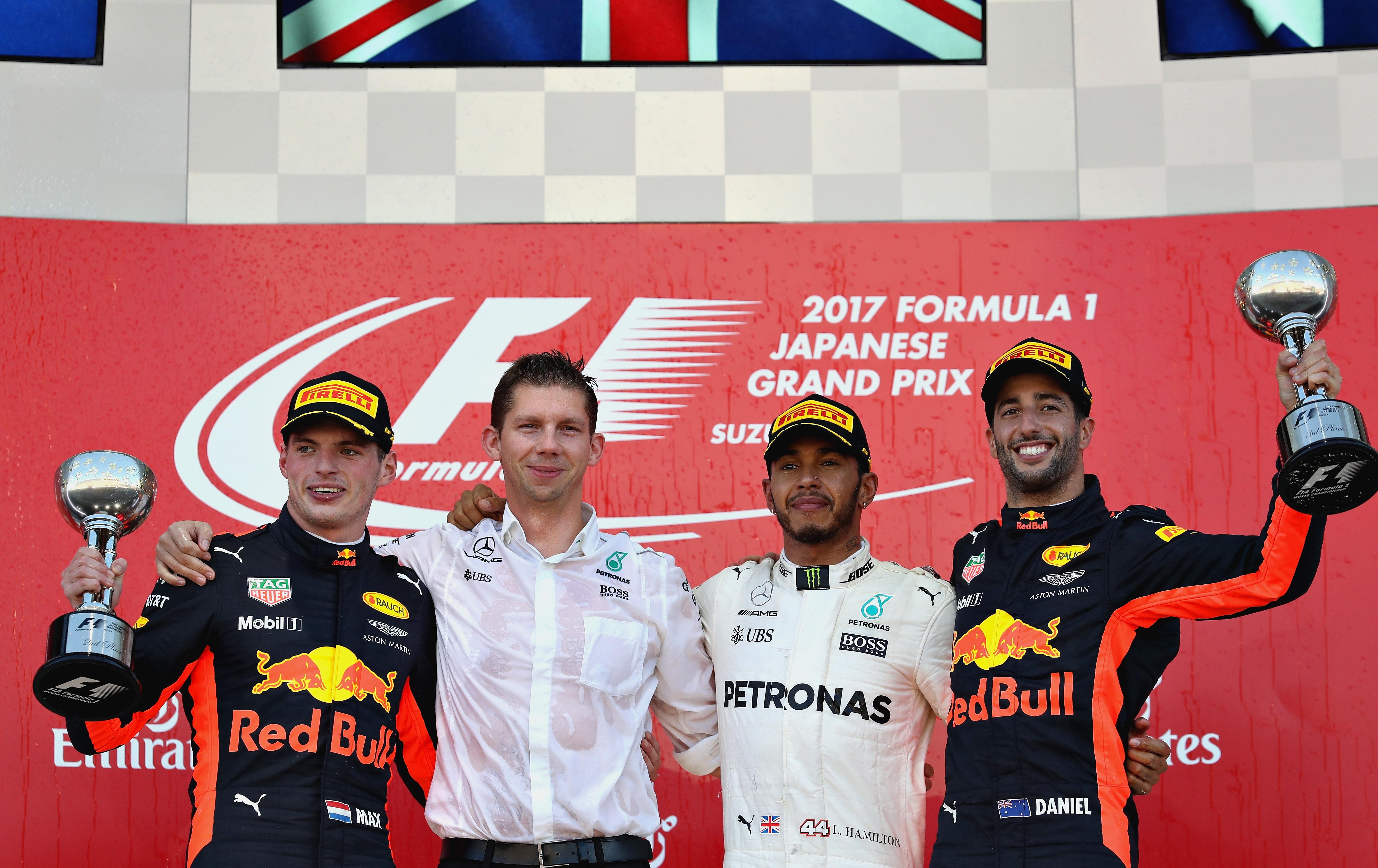 het F1-kampioenschap