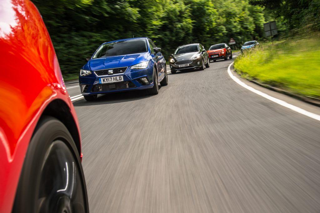 Ford Fiesta vs Seat Ibiza vs Nissan Micra vs Citroën C3 vs Opel Corsa (2017)