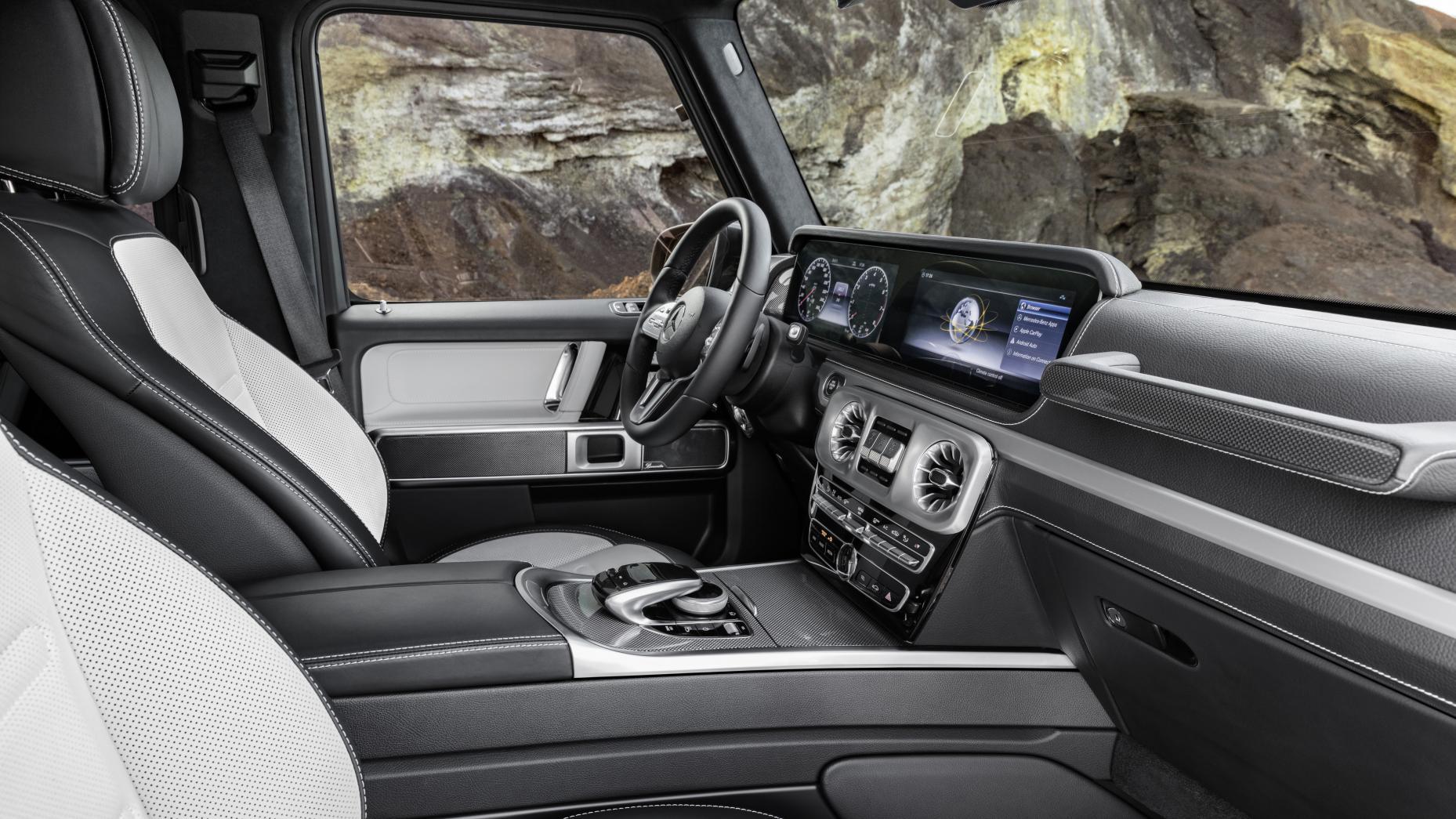 Nieuwe Mercedes G-klasse (2018) - Dit is het interieur - TopGear