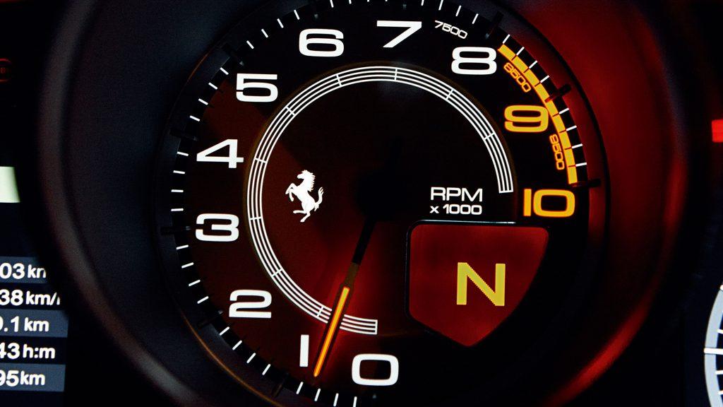 Ferrari FF 2011 toerenteller