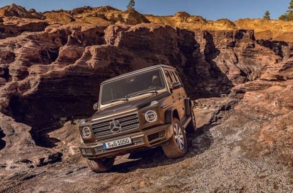 nieuwe Mercedes G-klasse