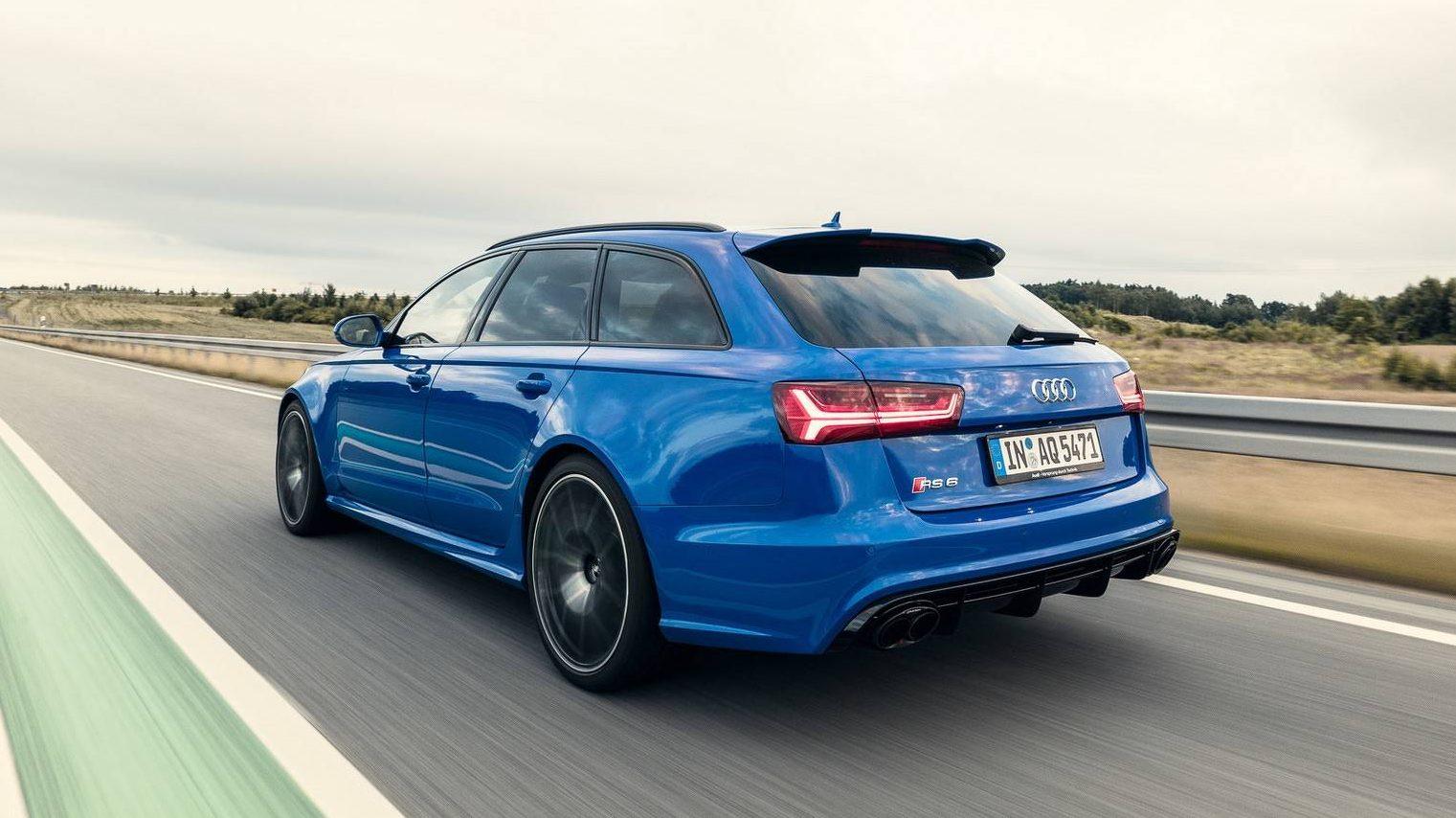 Audi RS 6 Nogaro Edition gaat 320 km/u