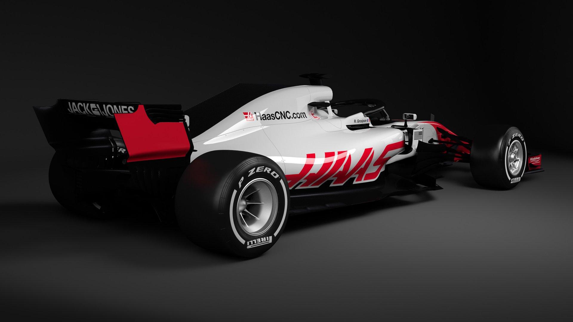 Haas Vf 18 De Eerste F1 Auto Van 2018 Topgear