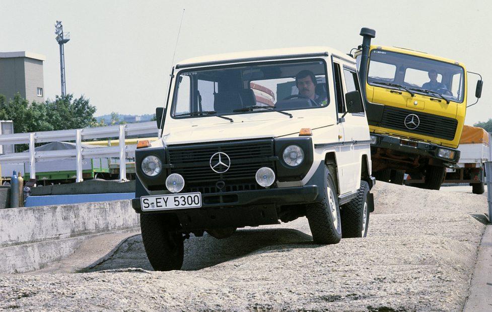 Mercedes G-klasse oud