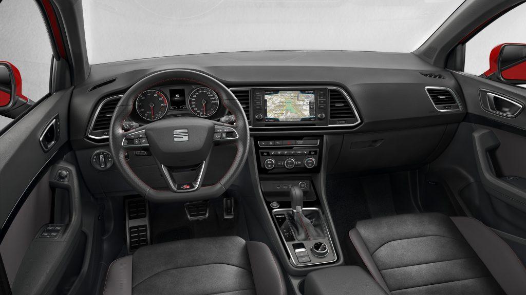 Seat Ateca FR 2.0 TSI 4Drive DSG interieur (2018)