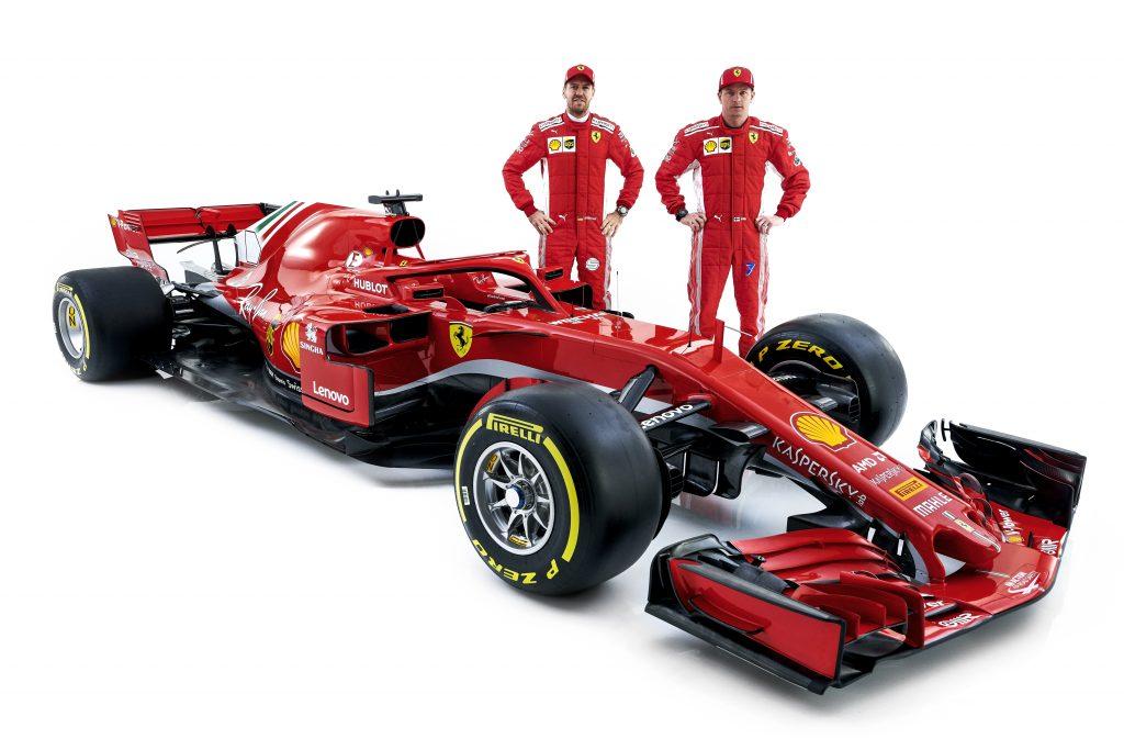 F1-auto's van 2018