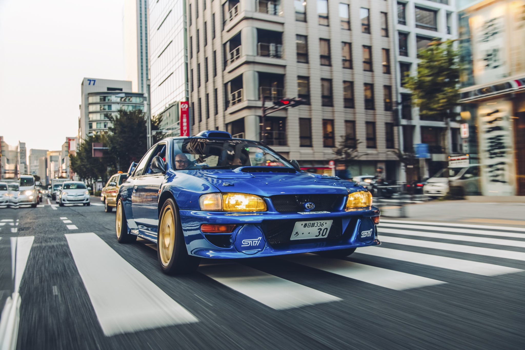 Subaru WRC Impreza Japan