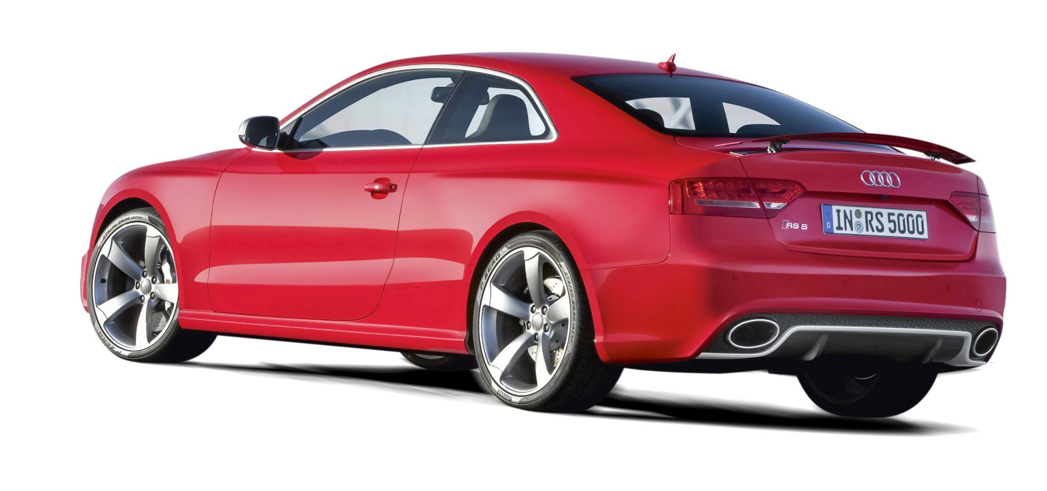 Audi RS 5 rood