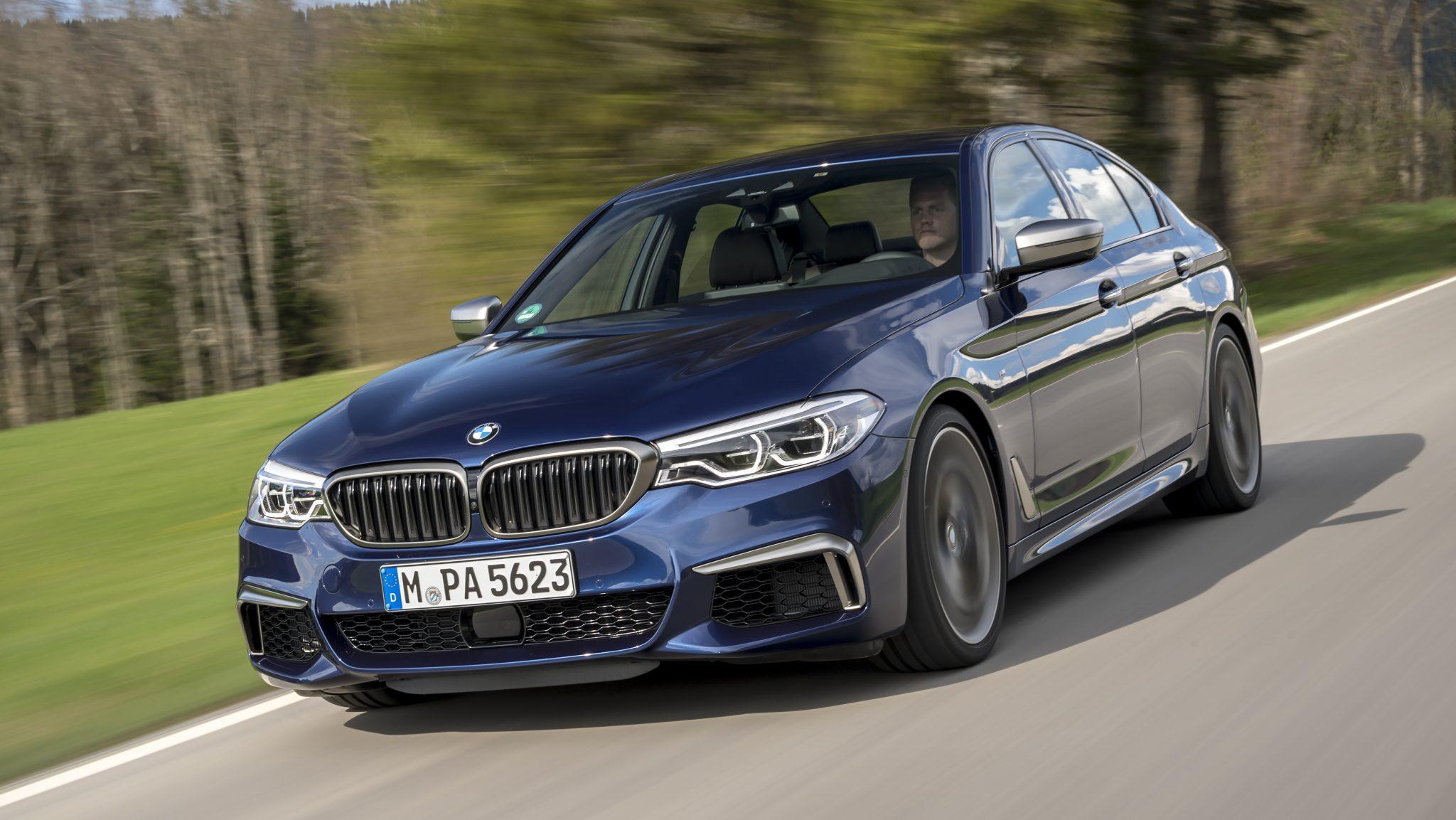 BMW M550d xDrive (2018)