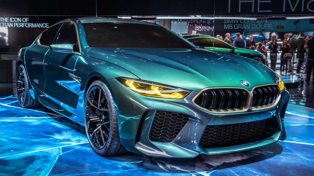 BMW Concept M8 Gran Coupe (2018)
