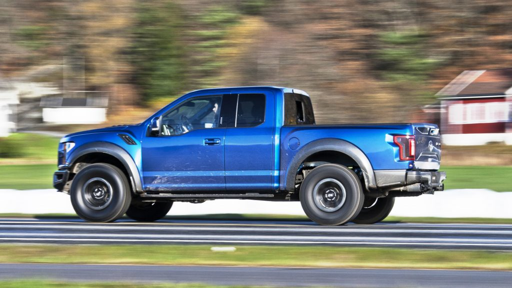 Ford F-150 Raptor Super Cab (2018)