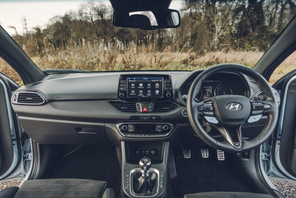 Hyundai i30 N interieur (2018)