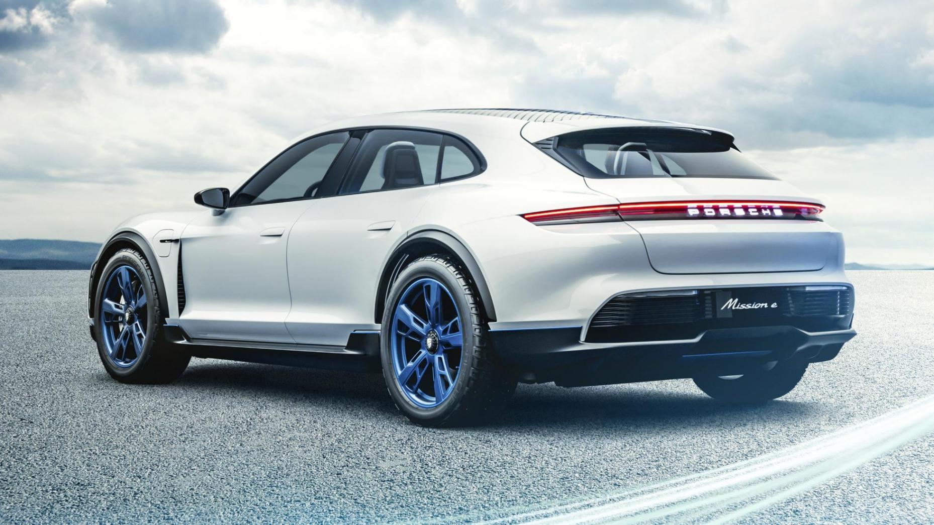 Porsche Mission E Cross Turismo 2019