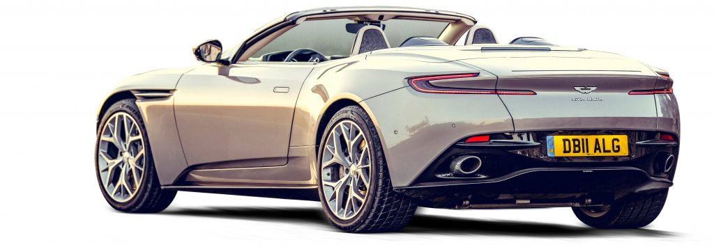 Aston Martin DB11 V8 Volante (2018)