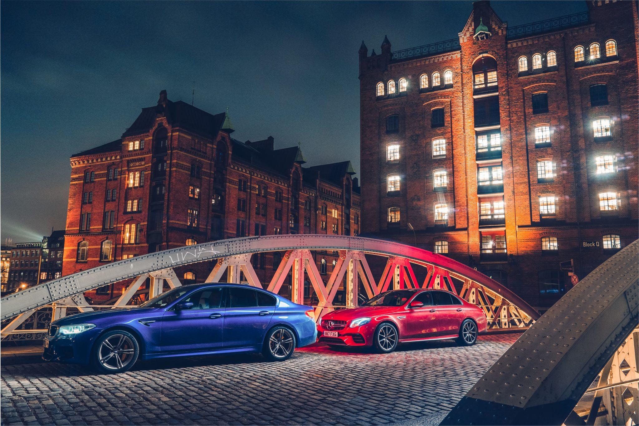 BMW M5 F90 vs Mercedes-AMG E 63 S