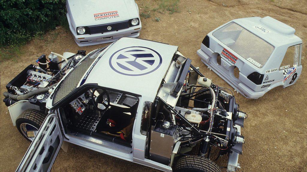 Volkswagen Pikes Peak Golf (1987)