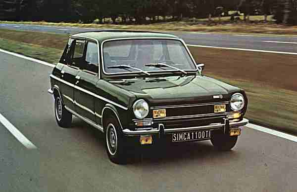 Simca 1100TI (1973)